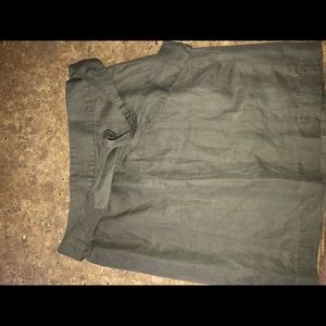 Gray pencil skirt- never worn
